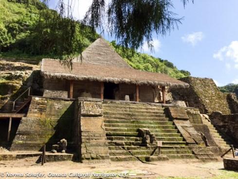 Malinalco Pyramid