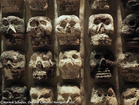 Skull wall detail