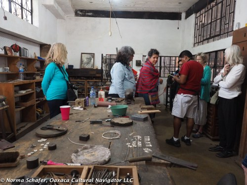 Spratling workshop, just as it was then