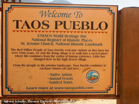 Taos Pueblo is a UNESCO World Heritage site