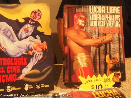 Lucha Libre is a popular Latino comic book subject