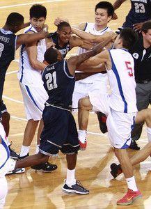 China US Basketball Brawl