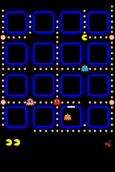High Resolution iPhone 4 Pacman Wallpaper | Obama Pacman