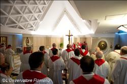 No Templo, o que mais importa não são os ritos, mas a adoração ao Senhor, diz Papa