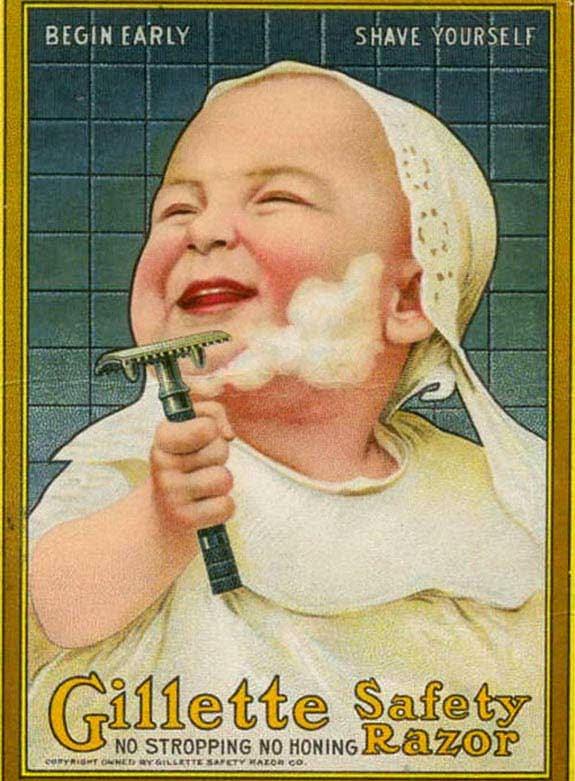 gillete comece cedo faça a barba