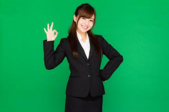 大学卒業式スーツ女性