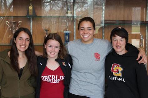 In the Locker Room With Sophia Brancazio, Molly Martorella and Lauren Taylor