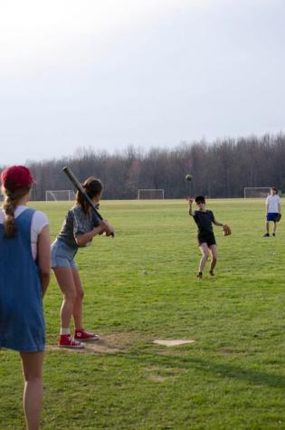 IM Softball Provides Chance for All to Step Up to the Plate