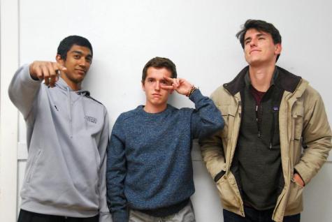 In the Locker Room with Manickam Manickam, Michael Drougas and Robert Gittings