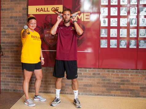 In the Locker Room with Sally Snover and Devyn Spielvogel