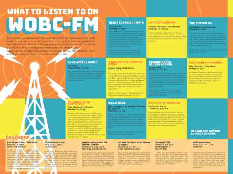 This Week: What to Listen to on WOBC-FM