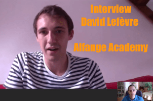 Interview David Lefèvre, créateur d'Alfange Academy