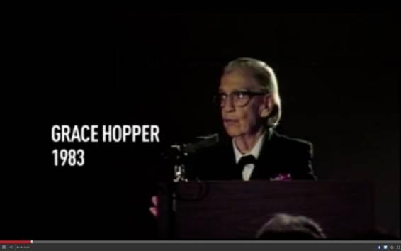 Grace Hopper en 1983
