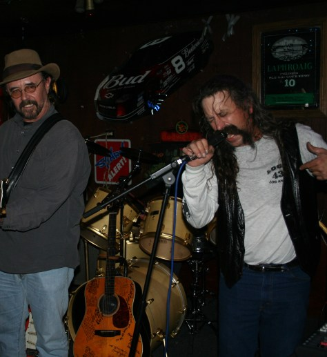 """Shane O Brien and Danny Timms at a 2006 New Years Eve Show"""