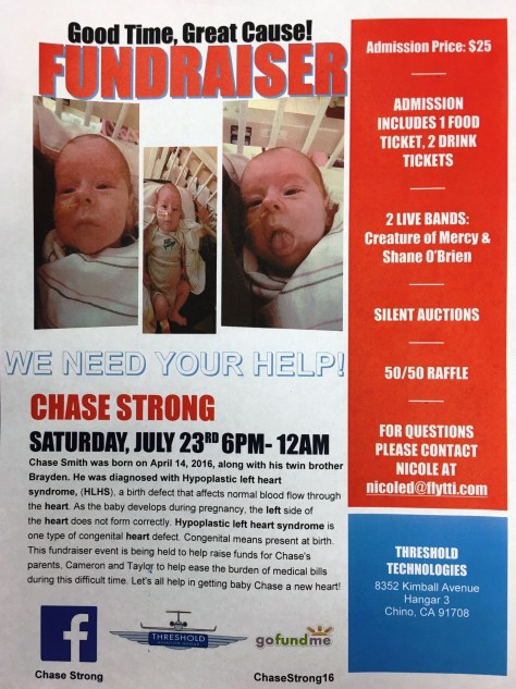 Help this 2 month old boy get his new heart