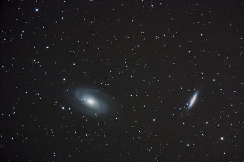 Imagen de M81 y M82 en Ursa Major