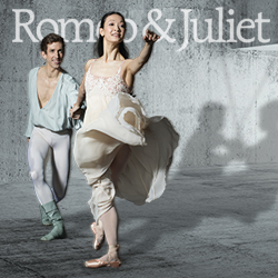 Romeo & Juliet | Xuan Cheng and Brian Simcoe. Photo by Tatiana Wills.
