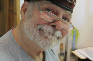 Outer Banks artist Glenn Eure, owner of the Ghost Fleet Gallery in Nags Head.