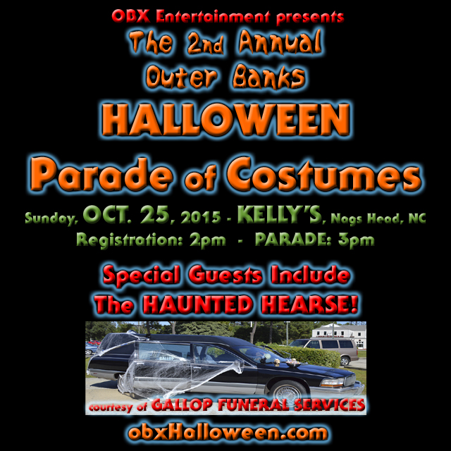 See the Haunted Hearse, courtesy of Gallop Funeral Services, at the 2nd Annual Halloween Parade of Costumes on Oct. 25, 2015!