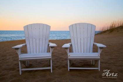Kill Devil Hills beach at sunset, 3-11-17, photo by Matt Artz_0003
