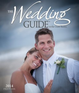 Click the image to check out The 2014 Wedding Guide to the Outer Banks, by Three Dog Ink.