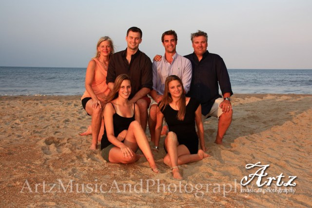 Family Beach Portraits by Artz Music & Photography_0102