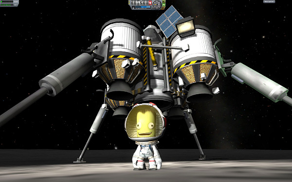 man on the mun