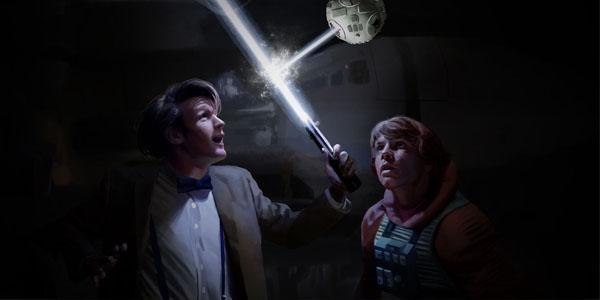 Confira os trailers de Doctor Who no estilo Star Wars e Esquadrão Suicida