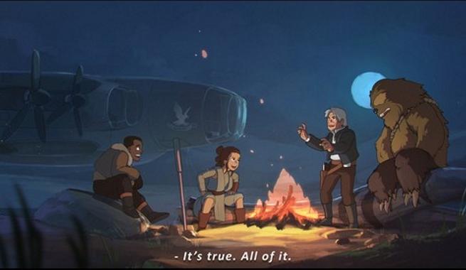 Artista reimagina Star Wars como uma criação do Studio Ghibli