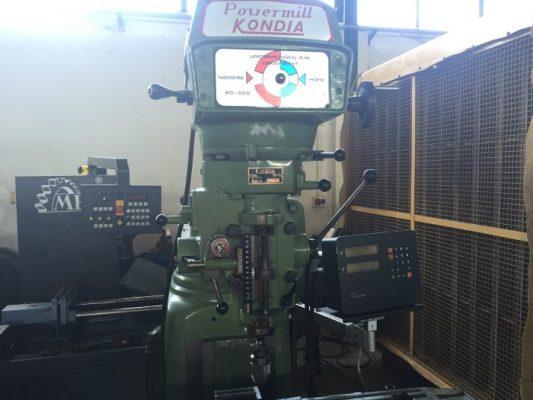 Fresadora KONDIA FV-1 / KONDIA FV-1 Universal Tool Milling Machine