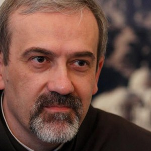 FRANCISCAN FATHER PIERBATTISTA PIZZABALLA, HEAD OF THE FRANCISCAN CUSTODY OF THE HOLY LAND, IS PICTURED IN A 2011 PHOTO IN ROME. FRANCISCAN FATHER FRANCESCO PATTON HAS BEEN ELECTED AS NEW CUSTOS OF THE HOLY LAND, REPLACING FATHER PIZZABALLA. / PHOTO: (CNS PHOTO/PAUL HARING)