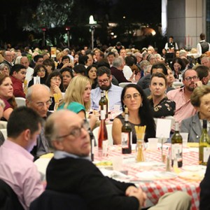 More than 500 people attended the Oct. 14 fundraiser that will support earthquake relief efforts in Amatrice, Italy. / Photo: Challenge Roddie
