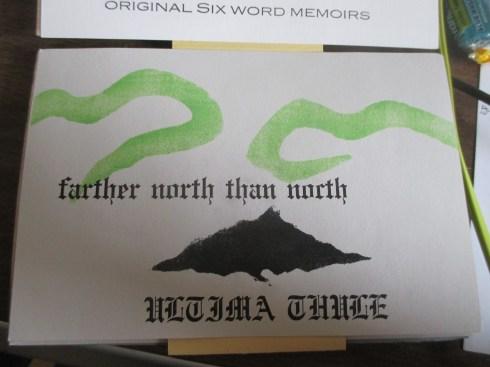 Ultima Thule Postcard