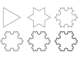 occult triangle lab koch snowflake