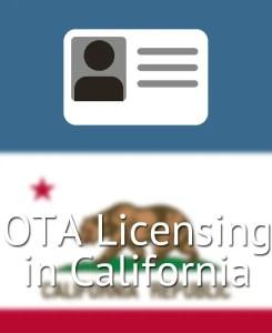 OTA Licensing in California