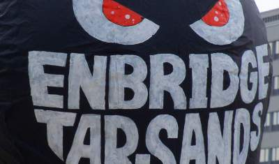 Enbridge Tar Sands Balloon Opt