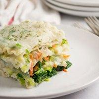 Vegan White Lasagna {GF, NF}
