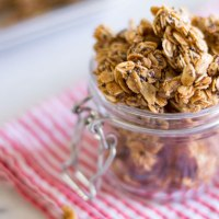 Honey Oat Granola Clusters