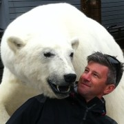 Ben Wallis polar bear encounter