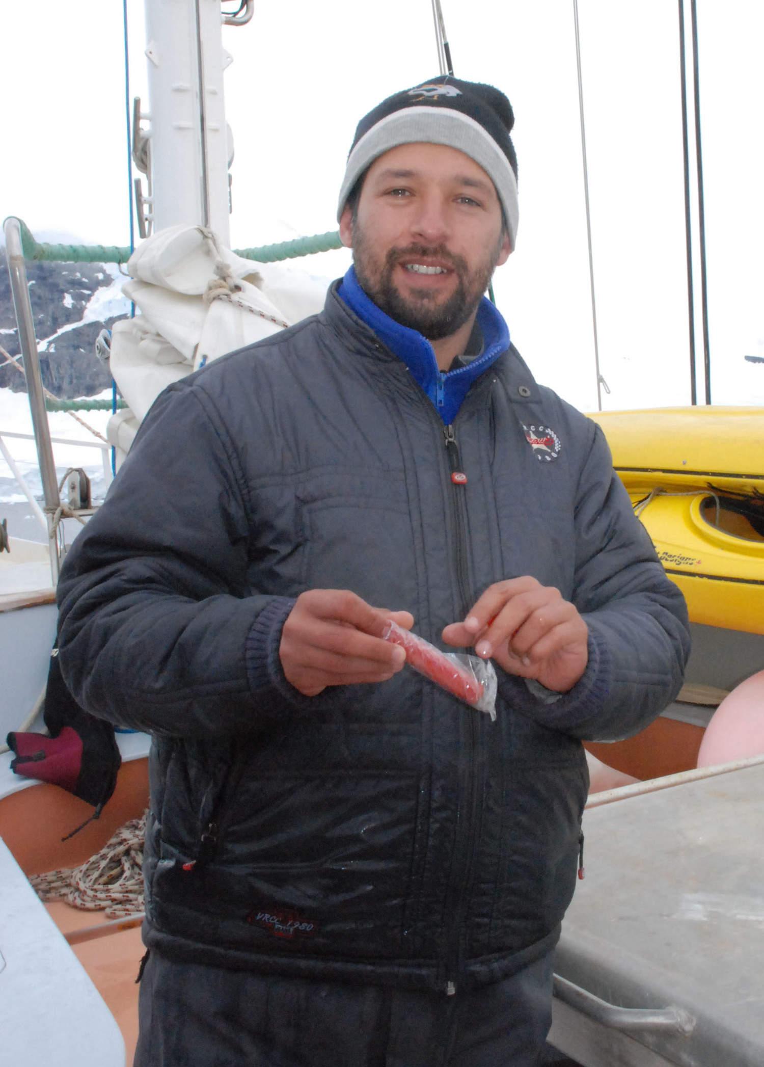 Jorge Acevedo Ocean Expeditions fellowship