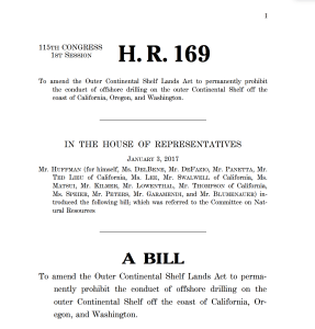 Example of a bill text. A House bill will typically begin with H.R. or H.Res. Any Senate bills will typically begin with S. or S.Res. Bill numbers begin fresh at the start of each new Congress (i.e. every 2 years).
