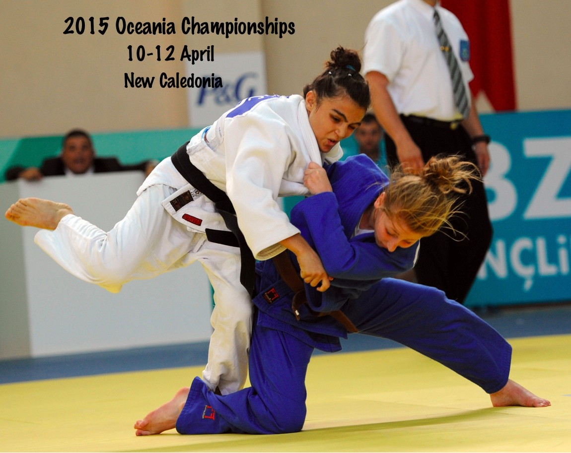Date is set for the 2015 Oceania Championships in New Caledonia