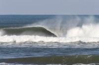 SUP surf session@Shirasato