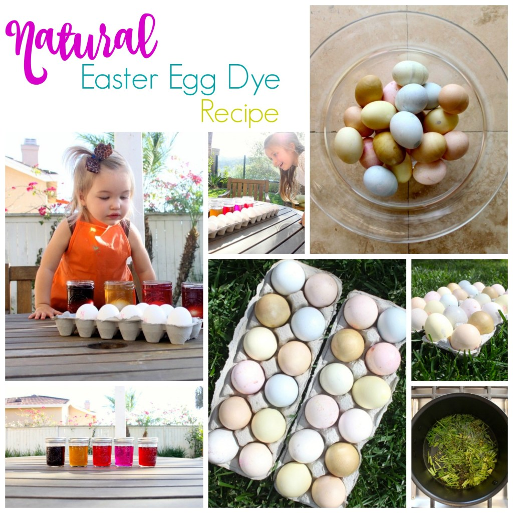 Natural Easter Egg Dye Recipe