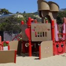 Aliso Creek Beach Playground in Laguna Beach