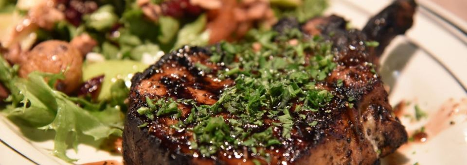 Mimi's Introduces a Tasty Honey Lavender Pork Chop