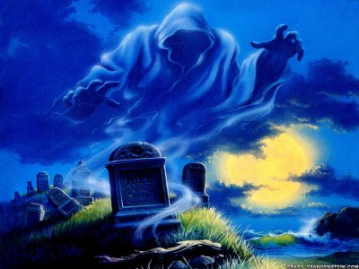 Halloween Memory: The Ghost in the Graveyard | OCTOBER ON THE INTERNET