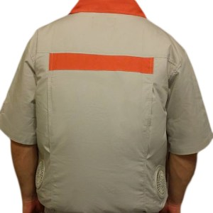 Air Conditioned Clothing - Light Gray Orange