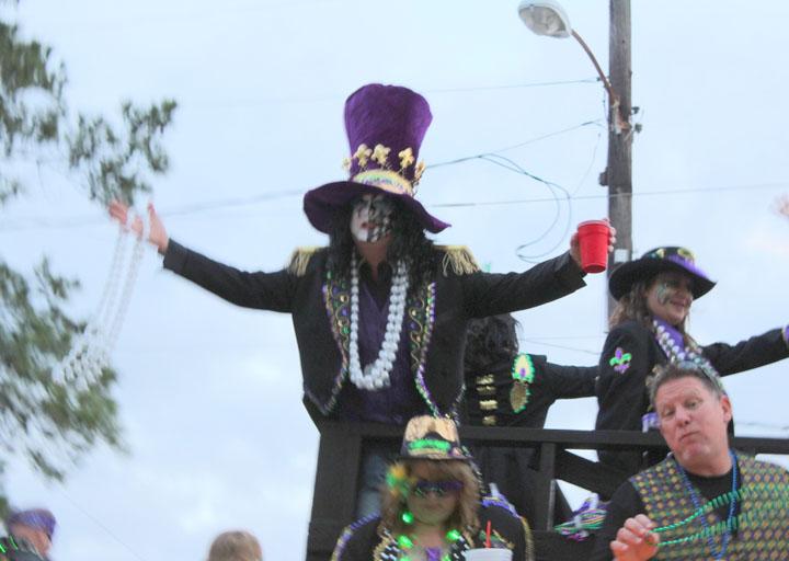 Orange Mardi Gras Parade 2016