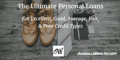 Best Personal Loans for Good Credit & Bad Credit in 2018